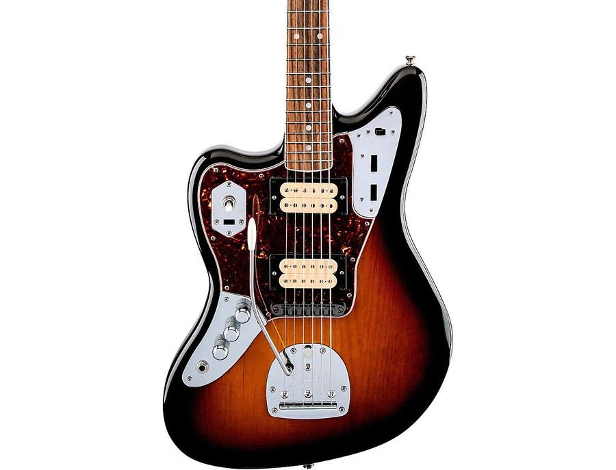 Fender Kurt Cobain Jaguar Nos Left-Handed Electric Guitar 3-Color Sunburst Rosewood Fingerboard