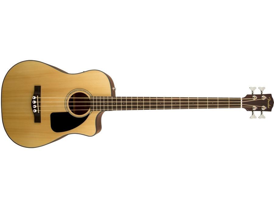Fender cb100 ce acoustic bass xl