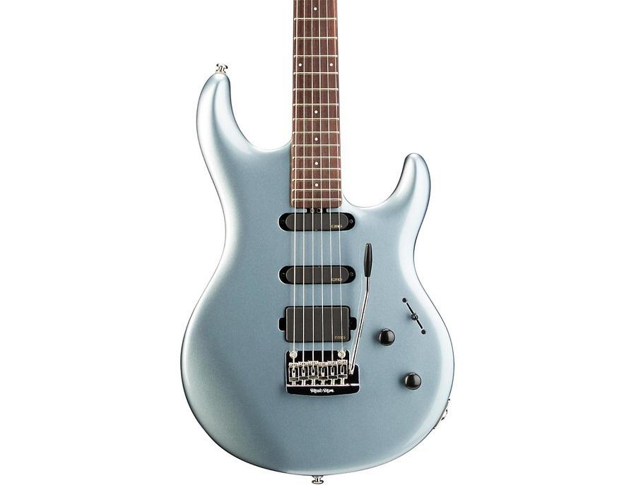 Ernie Ball Music Man Luke Signature Model Electric Guitar Blue Rosewood Fretboard