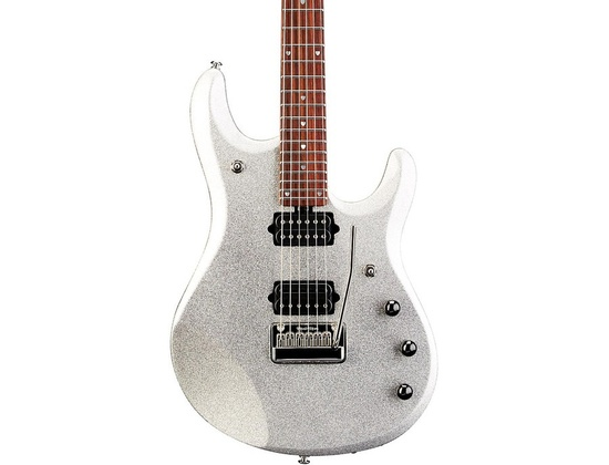 Ernie Ball Music Man Jp6 Electric Guitar With Piezo Silver Sparkle