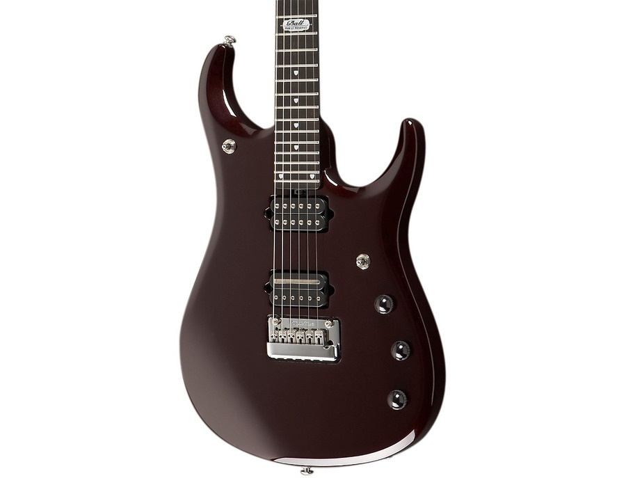 Ernie Ball Music Man John Petrucci JP12 Electric Guitar Cherry Sugar Basswood Body