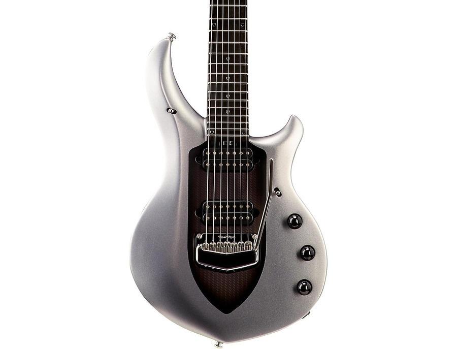 Ernie Ball Music Man John Petrucci Majesty 7-String Electric Guitar Silver Lining