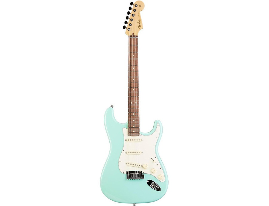 Fender Custom Shop Custom Artist Series Jeff Beck Signature Stratocaster Electric Guitar Surf Green Rosewood Fretboard