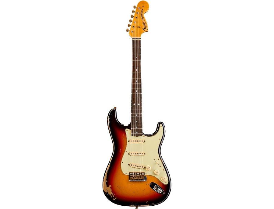 Fender Custom Shop Michael Landau 1968 Relic Stratocaster Electric Guitar 3-Color Sunburst