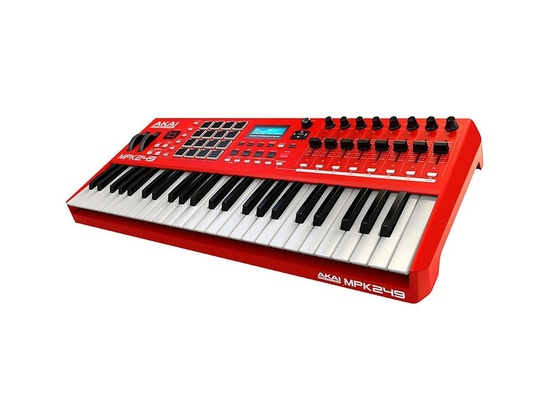 akai professional red mpk249 reviews prices equipboard. Black Bedroom Furniture Sets. Home Design Ideas
