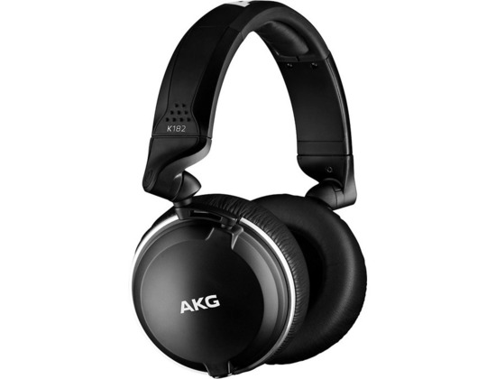 Akg K182 Professional Closed-Back Monitor Headphones