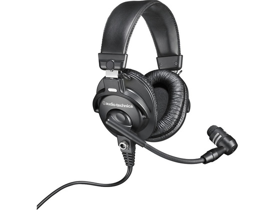 Audio-Technica Bphs1 Broadcast Stereo Headset With Dynamic Boom Microphone