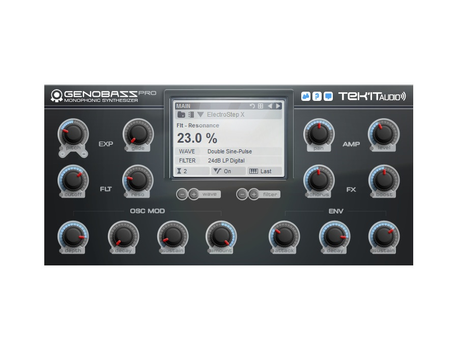 Tek'it Audio Genobazz Pro