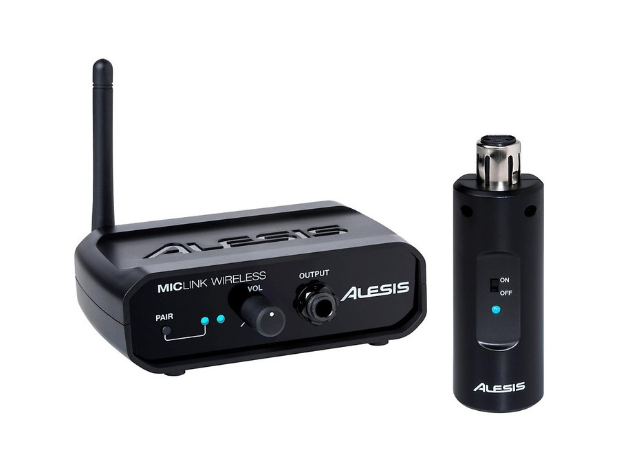 Alesis MicLink Wireless Digital Wireless Microphone Adapter