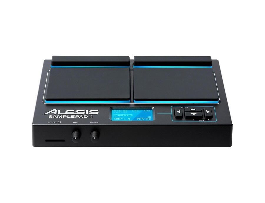 Alesis sample pad 4 percussion and sample triggering instrument xl