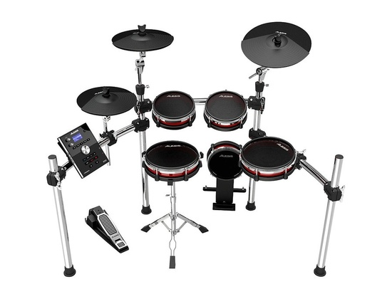 Alesis Crimson Electronic 5-Piece Drum Kit With Mesh Heads