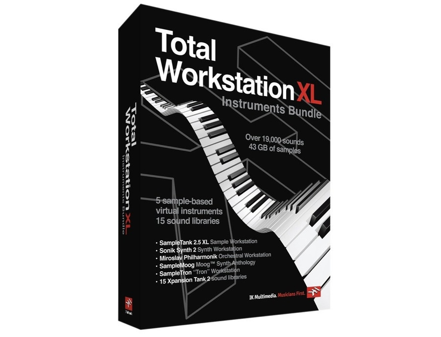 Ik multimedia total workstation xl xl