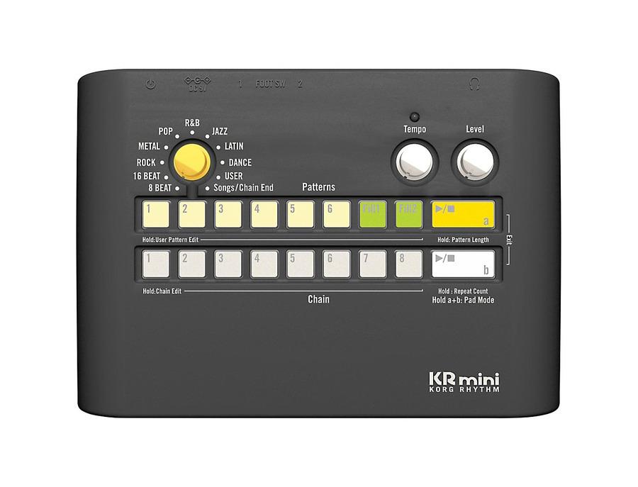 Korg KRmini Compact Rhythm Machine