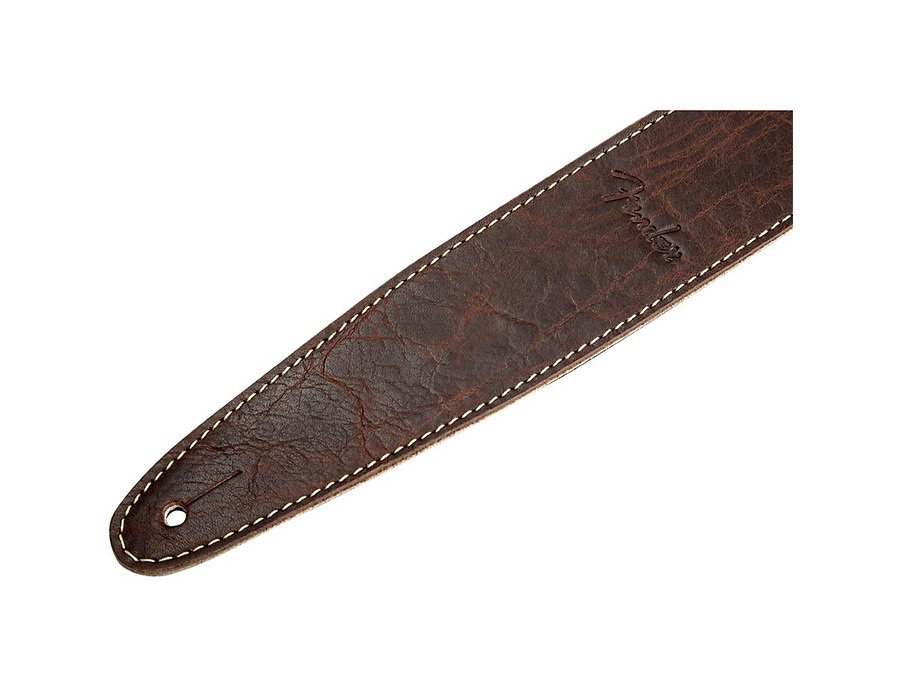 Fender Artisan Leather Guitar Strap Brown
