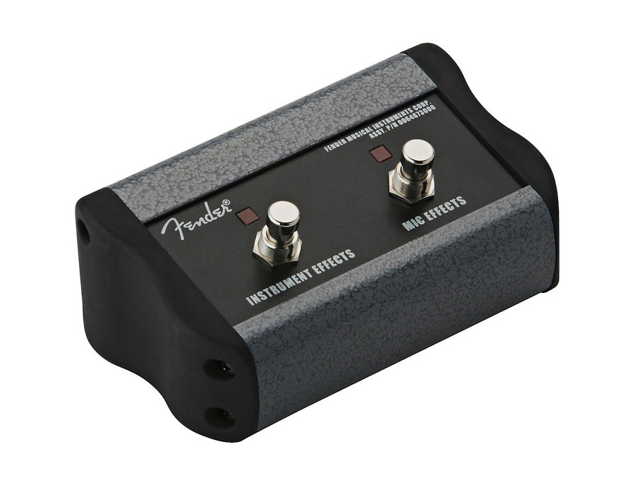Fender 2 button footswitch for acoustasonic xl