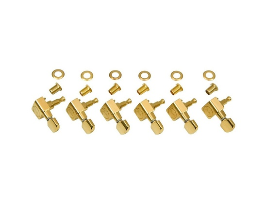 Fender American Series Stratocaster Guitar Tuners W/ Set Of 6 Gold