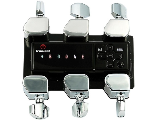 Tronical Tuning Systems Type F Self Tuner For Specific Taylor Guitars Chrome, Strat-Style Button