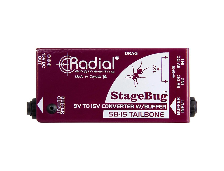 Radial Engineering Sb-15 Tailbone High Performance Signal Buffer