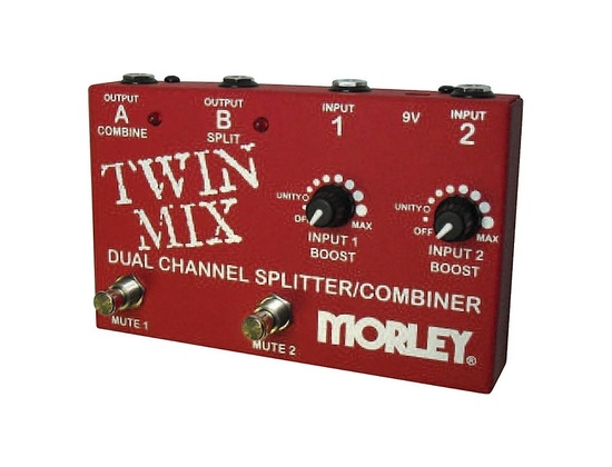 Morley Twin Mix Aby Switcher Splitter Combiner