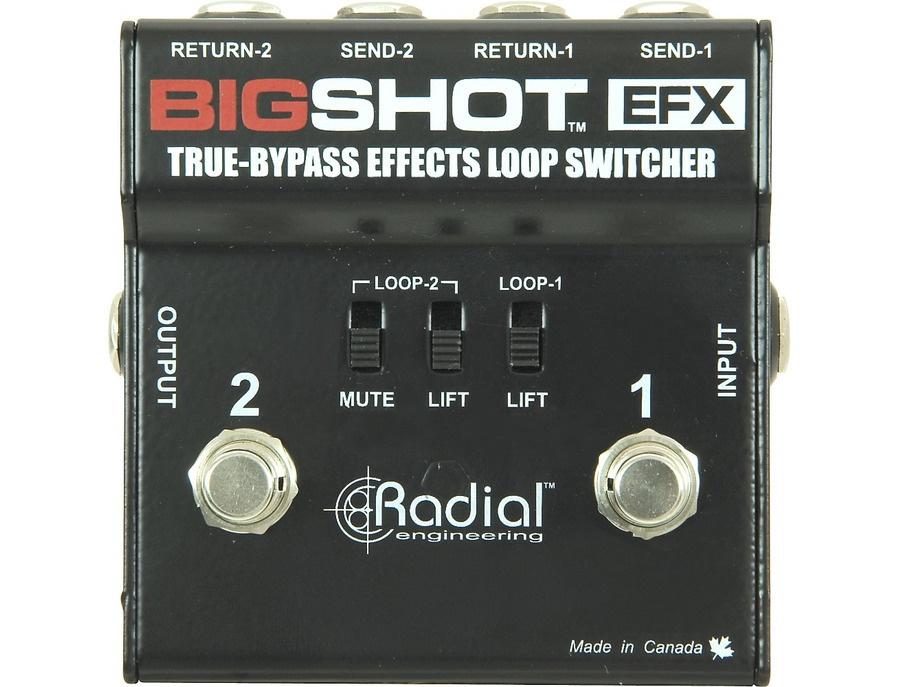 Radial engineering bigshot efx effects loop xl