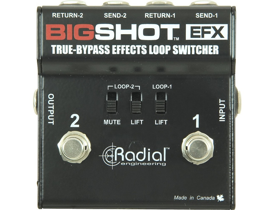 Radial Engineering Bigshot Efx Effects Loop