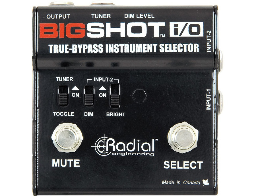 Radial Engineering Bigshot I/O Selector Switch