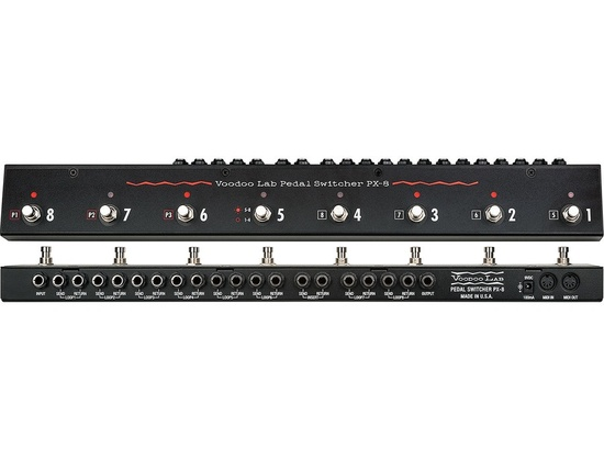 Voodoo Lab Px-8 Pedal Switcher