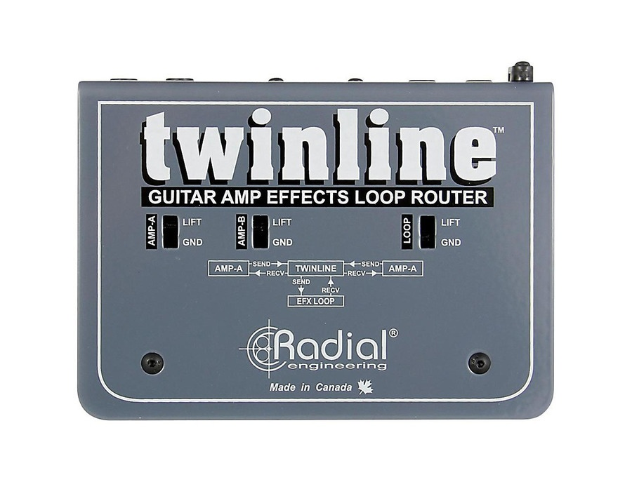 Radial Engineering Twinline Dual Effects Loop Interface For Two Amps