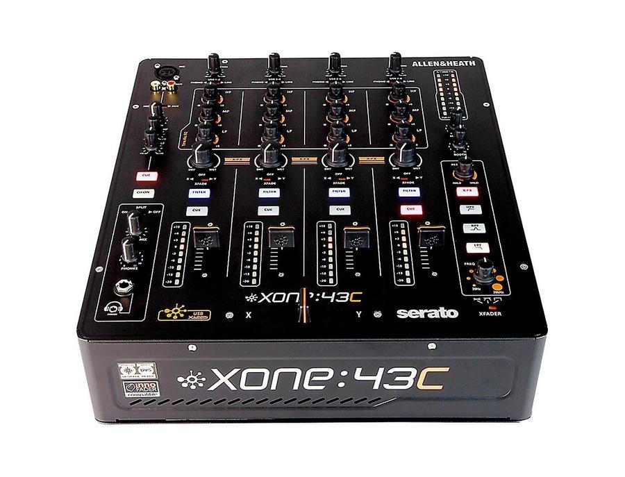 Allen & Heath Xone:43C Dj Mixer With Soundcard