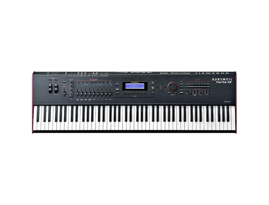 Kurzweil Forte SE 88-Key Piano with 2 GB of memory Black