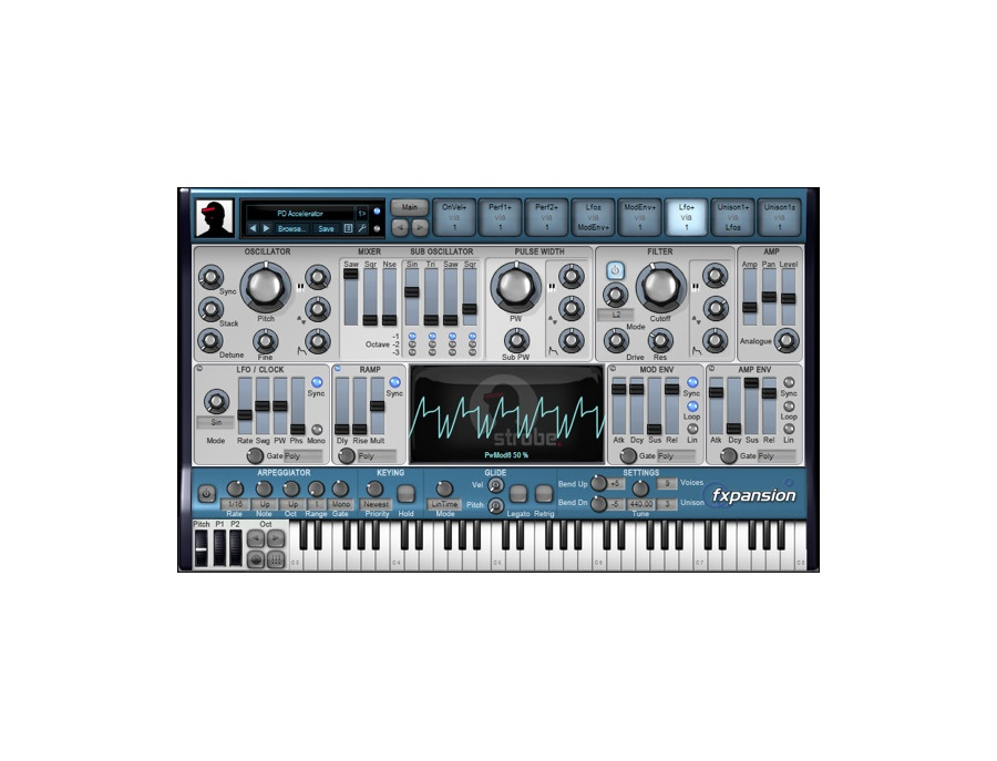 FXpansion DCAM: Synth Squad Software Synthesizers