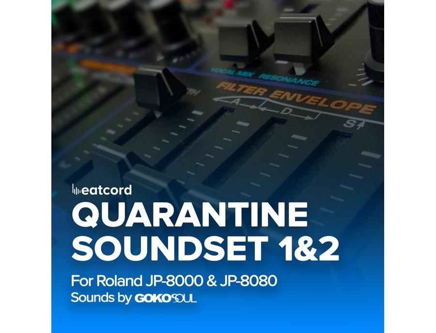 Gokosoul Quarantine Soundset Vol.1&2 for Roland JP-80x0
