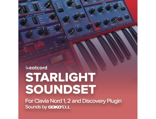 Gokosoul Starlight Soundset for Clavia Nord 1, 2, DiscoDSP Discovery