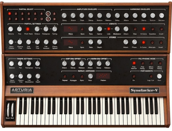 Arturia Synclavier Synthesizer