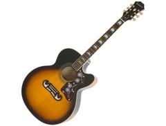 Epiphone-ej-200ce-electro-acoustic-guitar-vintage-sunburst-s