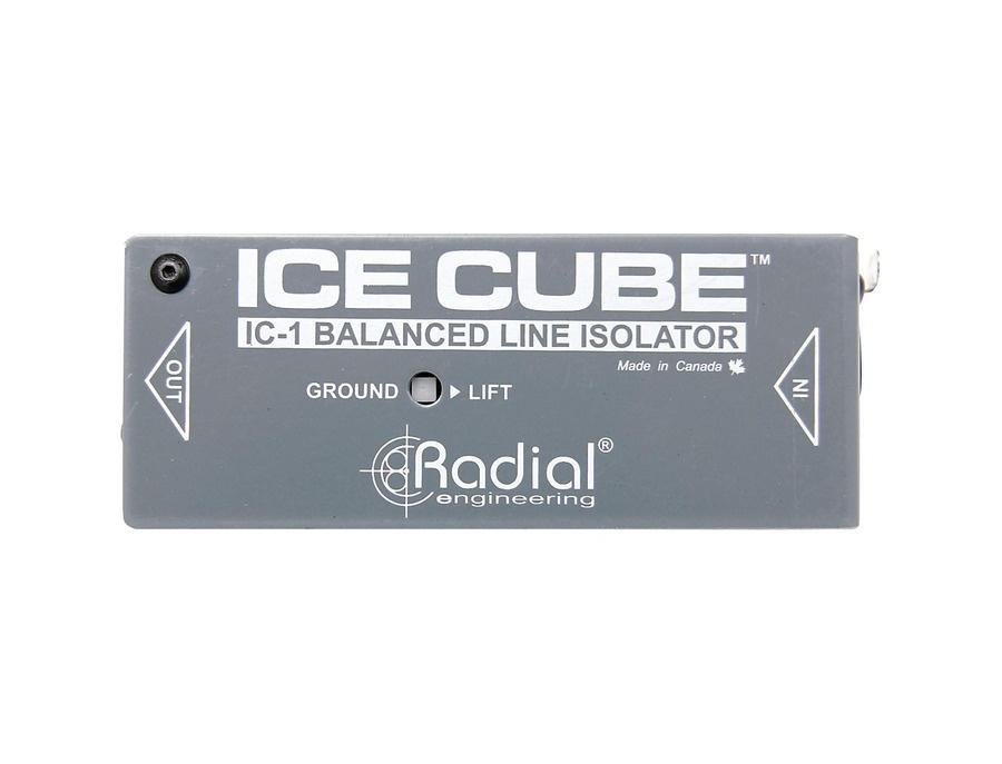 Radial Engineering IceCube IC-1 Balanced Line Isolator and Hum Eliminator