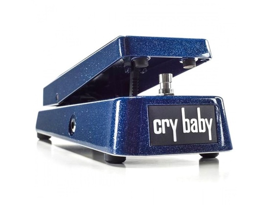 Dunlop GCB95 Cry Baby Wah Wah LTD Blue Sparkle