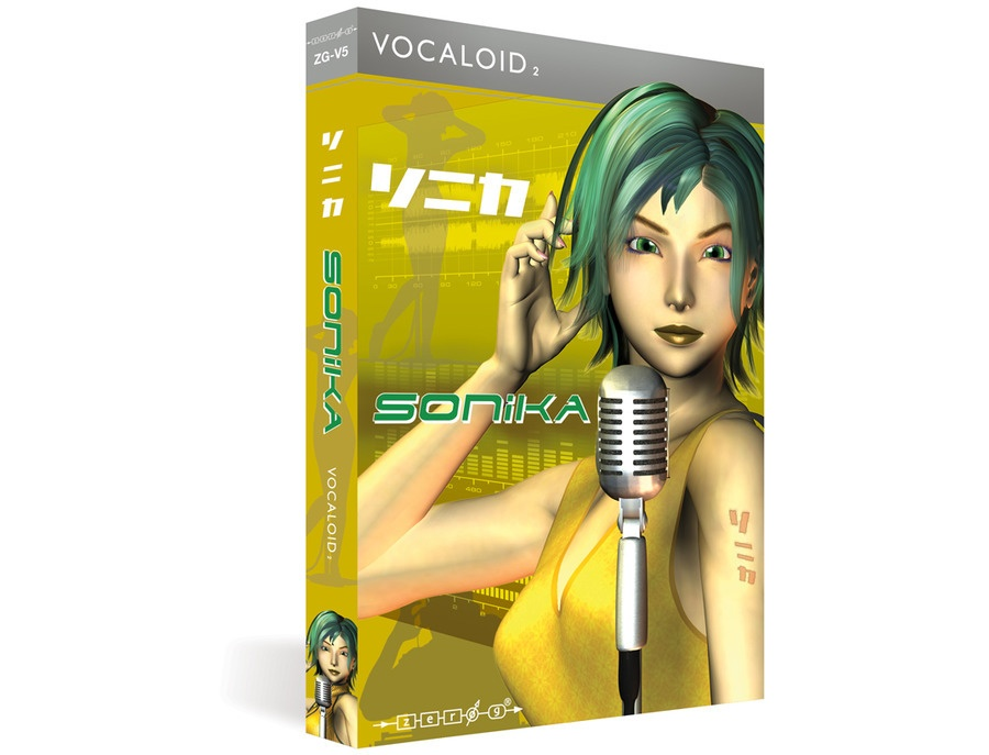 SONiKA (VOCALOID2 Library)