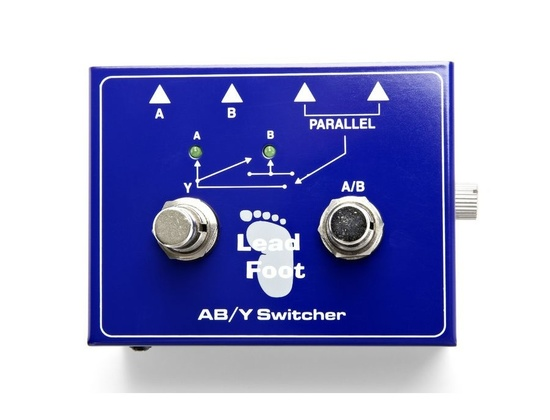 Lead Foot ABY Switch
