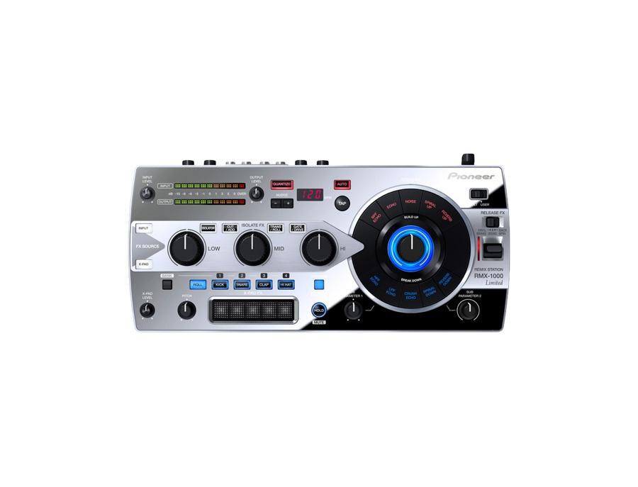 Pioneer rmx 1000 remix station platinum limited edition xl