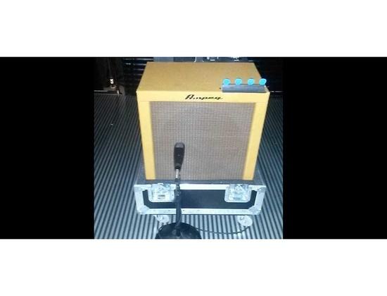 "Ampeg Custom 1x15"" Tweed Bass Cabinet"