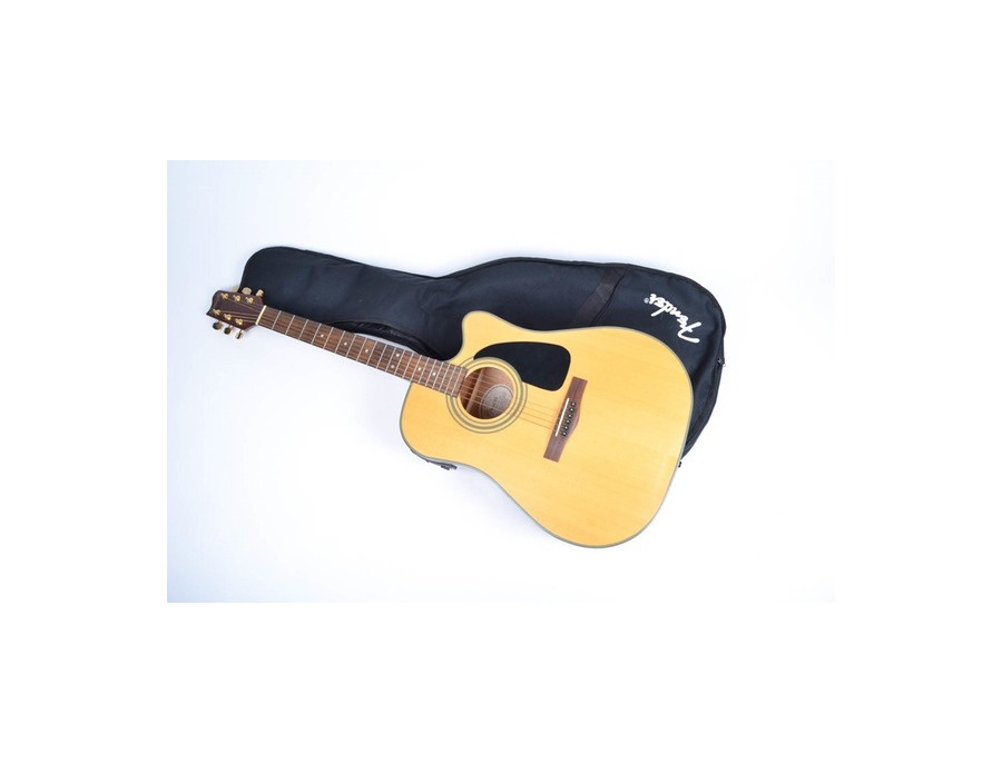 fender starcaster nat acoustic electric guitar reviews prices equipboard. Black Bedroom Furniture Sets. Home Design Ideas