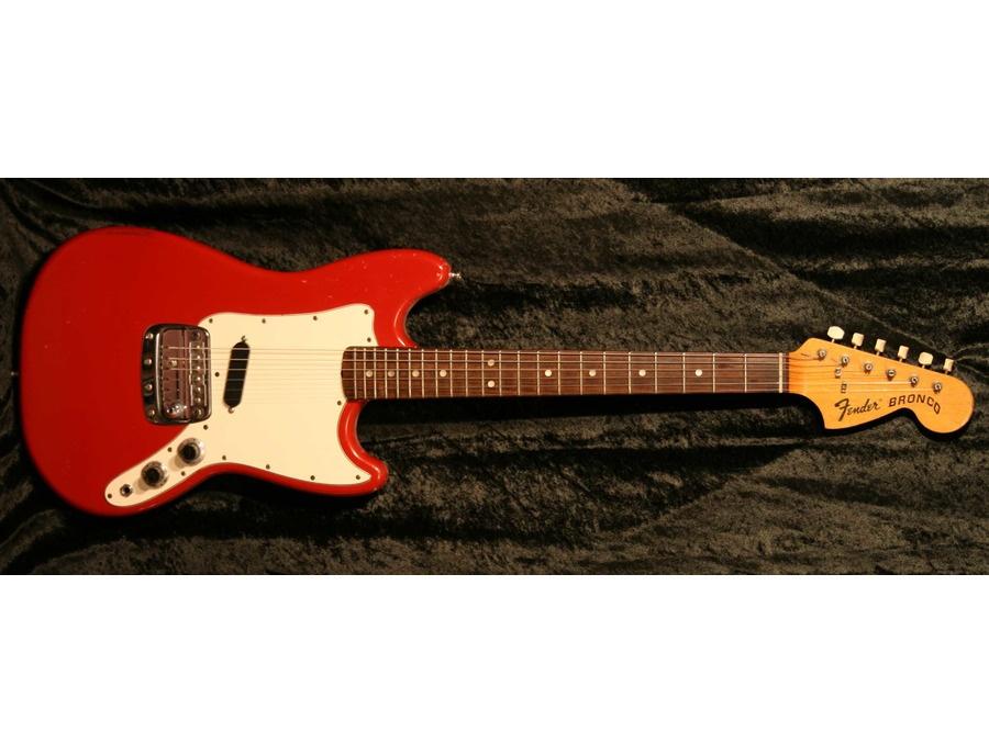 Fender bronco xl