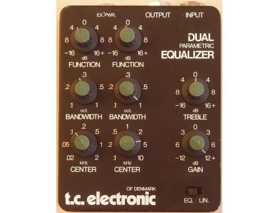 TC Electronic Dual Parametric Equalizer