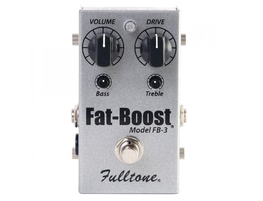 Fulltone fatboost 3 fb 3 guitar effects pedal xl