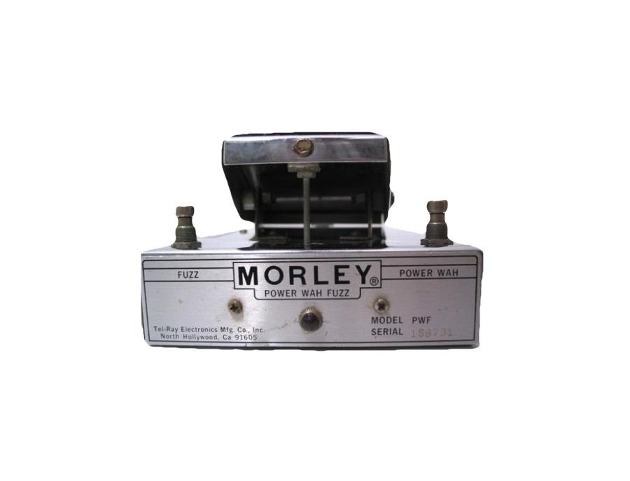 Morley power wah fuzz pedal xl