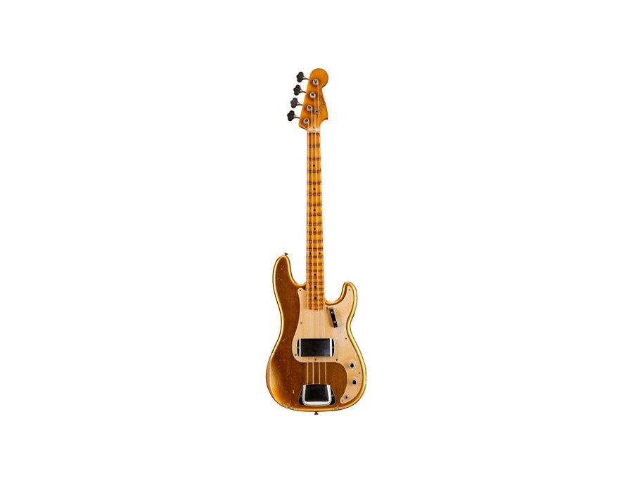 Fender Custom Shop 1957 Precision Bass Relic Masterbuilt by John Cruz  Gold