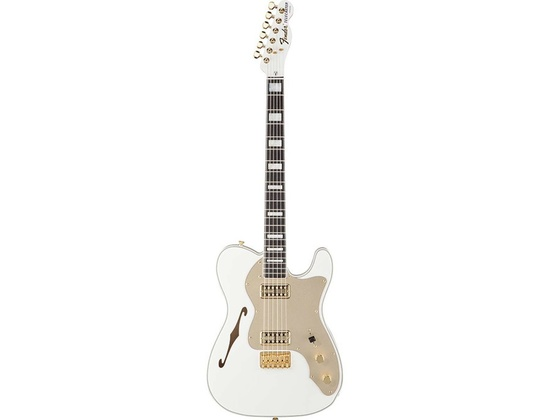 Fender Telecaster Thinline Super Deluxe Olympic White