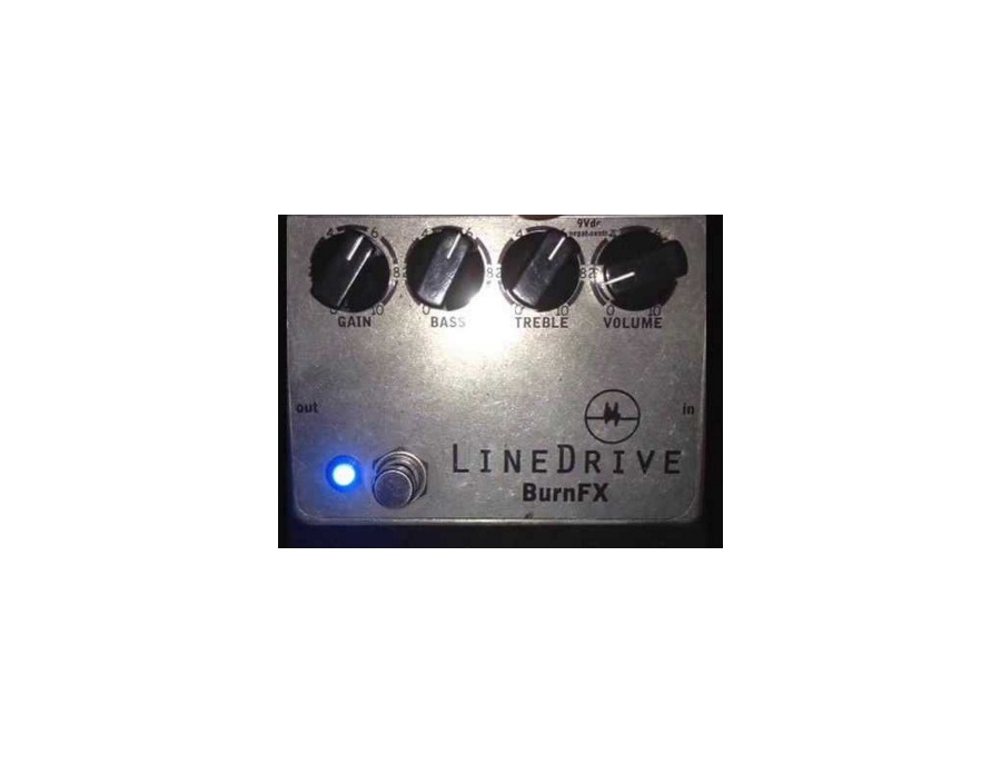 BurnFX Line Drive Overdrive