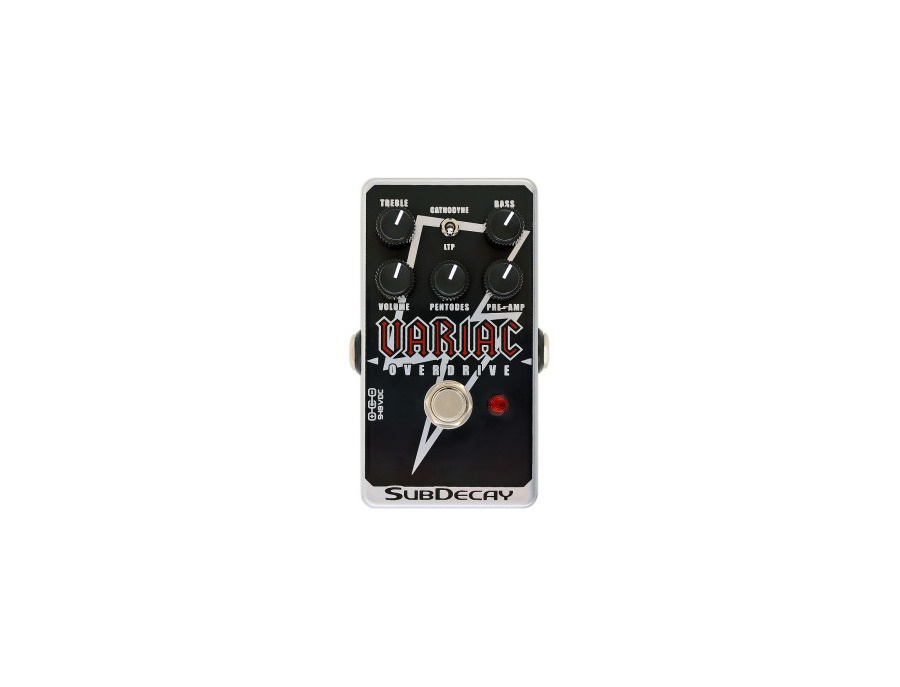 Subdecay Variac Overdrive Pedal